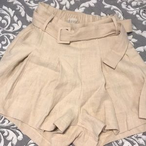 Moon River Pleated Shorts